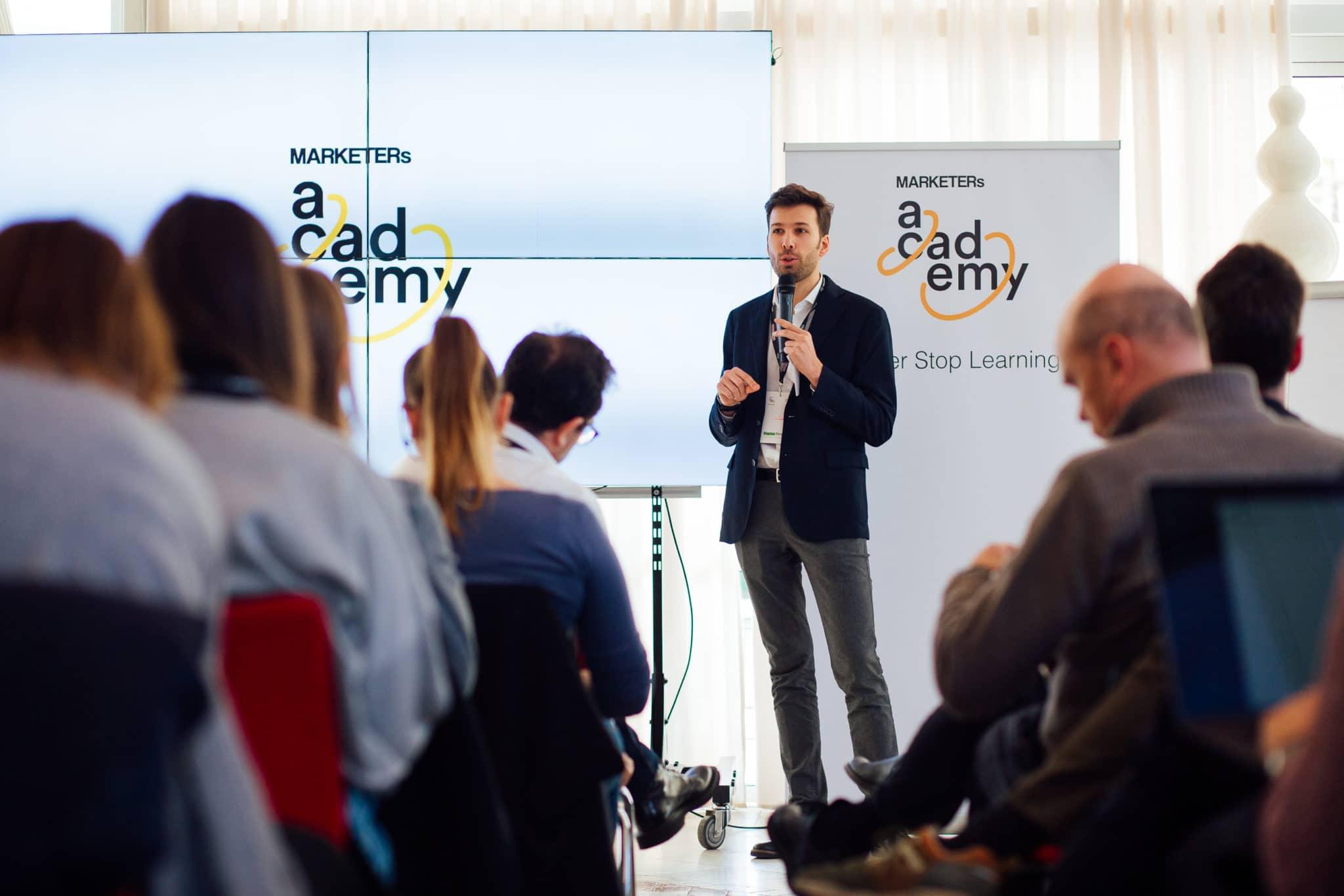 Francesco Favaro Presentazione corso MARKETERs Academy 2019